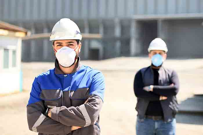 Safety inside Manufacturing Industry with RSHRIS's Face Recognition Face Mask Detection and Temperature Screening