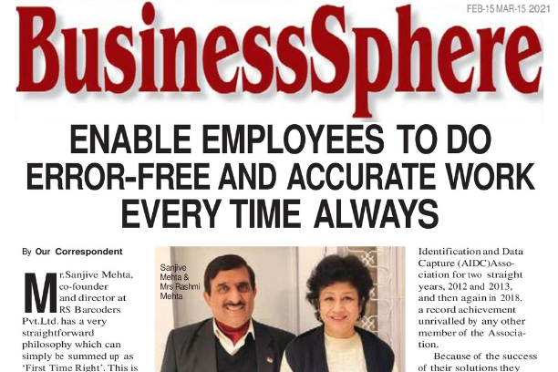Mr. Sanjive Mehta & Mrs. Rashmi Mehta | Businesssphere